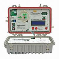 Buy cheap Outdoor Optical Transmitter/CATV Network 1310nm Outdoor Optical Transmitter with Ortel/AOI Laser from wholesalers