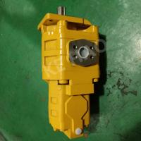 Buy cheap Yellow Cat Skid Steer Hydraulic Pump / Aluminum Gear Pump Compact Structure from wholesalers