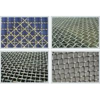 Hot Galvanized Stainless Steel Crimped Wire Mesh For Industry , 6mm Aperture Manufactures