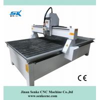 Buy cheap good quality syntec control vacuum table 3.0KW watercooling cnc router from wholesalers