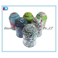Buy cheap round lipton tea packaging tin box from wholesalers