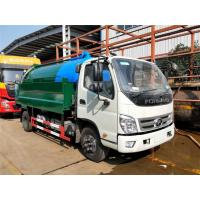Buy cheap Sewage Suction Cleaning Truck 5000 Liters Dust Tank With 2000 Liters High Pressure Water Tank from wholesalers