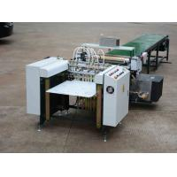 Buy cheap Beverage / Apparel Automatic Gluing Machine For Rigid Boxes Continuesly Feeding from wholesalers