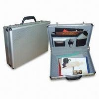 Wholesale Aluminum Attache Case with Combination Lock, Measures 17.5 x 12.75 x 4 Inches from china suppliers