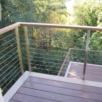 Wholesale Professional design balcony stainless steel 4mm wire cable railing from china suppliers