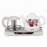 Buy cheap Electric Kettle and Tea Maker Set with 1,200W Power from wholesalers