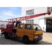 Hydraulic Chuck Truck Mounted Portable Drilling Rigs For Blast Hole , Exploring Gas Manufactures