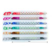 Buy cheap Erasable Multi Color Highlighter , Fluorescent Marker Pen from wholesalers