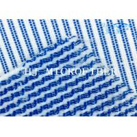 Buy cheap Blue Mixed White Color  Microfiber Terry Fabric Hard Wire Cleaning Cloth Fabric from wholesalers