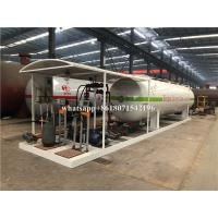 Buy cheap 10 Tons Transporting Large Propane Tanks New Condition Gas Mobile Filling Station from wholesalers