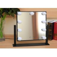Buy cheap 360° Moving LED Bulb Mirror Tin Frame / FUSXIN Led Beauty Mirror from wholesalers