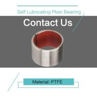 Buy cheap PTFE Customzied Size Self Lubricating Plain Bearing DIN 1494 / ISO 3547 from wholesalers