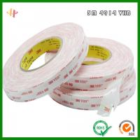 Wholesale 3M4914-25VHB strong double-sided Tape _ 3M4914 Series White Acrylic foam Tape from china suppliers