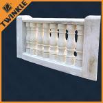 Buy cheap Sandstone baluster white granite marble balustrade / decking handrails from wholesalers