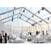 Buy cheap Big Outdoor 20x50m Transparent Pvc Clear Roof Tent for Wedding Marquee from wholesalers