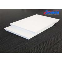 Buy cheap Furniture 10mm Foam PVC Sheet , Advertising Display Non Toxic Polyvinyl Chloride Foam from wholesalers
