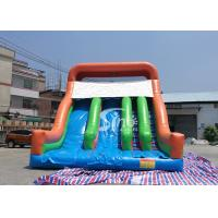 Buy cheap New Heavy Duty Vertical Rush Inflatable Pool Slides For Inground Pools From China product