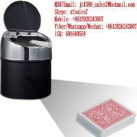 Buy cheap XF Black Plastic Ashtray Camera To Scan Invisible Bar-Codes Playing Cards For Poker Analyzers from wholesalers