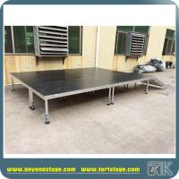 Hot Aluminum Adjustable Four Legs Stage Decent Stage Platform for Events, Concerts,Performances,Special events
