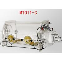 Buy cheap Transparent Table Top Lab Glove Box , Portable Glove Box System 800*550*600mm Size from wholesalers