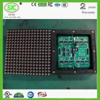 China Pixel pitch 6mm LED display module With 32dots x 16dots Resolution on sale