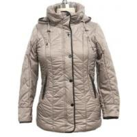 Buy cheap Heavy Thick Solid Hooded Coat For Women Short Type 100% Polyester Lining from wholesalers