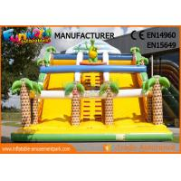 Wholesale Giant Commercial Inflatable Slide For Adult / Blow Up Jumping Slide from china suppliers