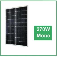 Wholesale UV Resistant Silicon Mono Crystal Solar Panel , Transparent Solar Panels For Farm from china suppliers