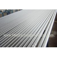 Buy cheap A249 TP304 / TP304L Welded Tube , Extruded Solid  Fin Stock For Heat Exchangers from wholesalers