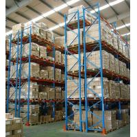 Buy cheap Industrial Warehouse selective pallet rack with spraying paint , 500kg - 1500kg from wholesalers