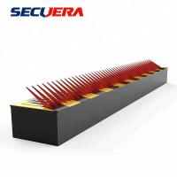 Quality Metal One Way Traffic Flow Plate Hydraulic Rising Bollards For Security Spike Barrier Lock for sale