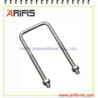 Buy cheap U bolt and nuts fastener from wholesalers