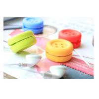 Buy cheap Durable Silicone Cable Winder , Cord Manager Soft PVC Cable Winder from wholesalers