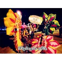 Buy cheap Wearable Inflatable Performance Costume, Inflatable Flower Wing for Dancer from wholesalers