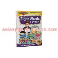 Buy cheap Sight Words 3 DVD Set Early Education Baby Learning Language Software Educational DVD from wholesalers