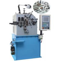 China Advanced Compression Spring Maker Machine With CNC Controlled Servo Motion System on sale