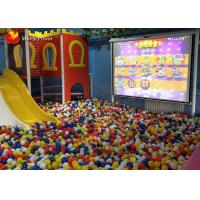 Buy cheap Children 3D Interactive Wall Projection Game Machines For Amusement Park from wholesalers