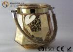 Warm White Mason Jar Fairy Lights , Mason Jar String Lights Fashionable Manufactures