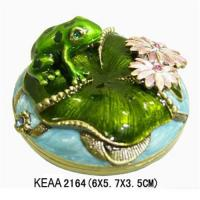 Wholesale Frog jewelry box KEAA2164 from china suppliers