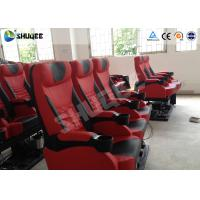 Wholesale Exciting 4D Cinema Equipment Seats Can Movement From Front To Back 50 - 200 Seats from china suppliers