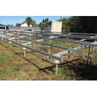 Buy cheap Honunity Technology Hot-galvanized Steel Ground Screw for Ground foundation of solar power plant without concrete base from wholesalers