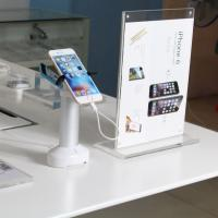 China COMER standalone security alarm display system for mobile phone tablet stands on sale