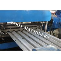 Buy cheap 30 KW Main Power, Hydraulic Cutting Grain Bin Sheet Rolling Machine With Belt For Keeping The Corns from wholesalers