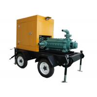 Buy cheap Centrifugal High Pressure Fire Fighting Pumps , Diesel Engine Driven Fire Water Pump from wholesalers