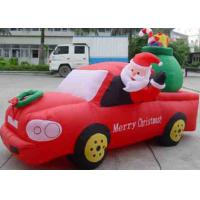 Buy cheap Inflatable christmas / halloween / inflatable festival decoration / inflatable santa & car from wholesalers