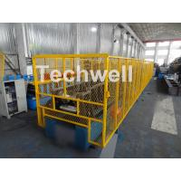 CZ Purlin Roll Forming Machine With Pre-punching & Pre-cutting For Mesh Guards Covered Manufactures