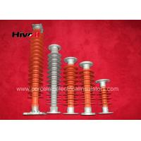 Buy cheap 35kV ~ 66 KV Station Post Insulators / Solid Core Post Insulators Red Color from wholesalers