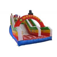 Buy cheap Commercial Blow Up Water Slides , Western Theme Large Inflatable Water Slide from wholesalers