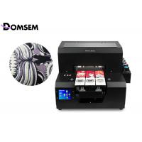 Buy cheap Mini Format A4 UV Flatbed Printer Domsem 0.1mm Printing Precision For PVC Card from wholesalers