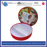 Buy cheap Round Shape Rigid Gift Boxes Recyclable Chocolate Packaging Boxes Sedex Assured from wholesalers
